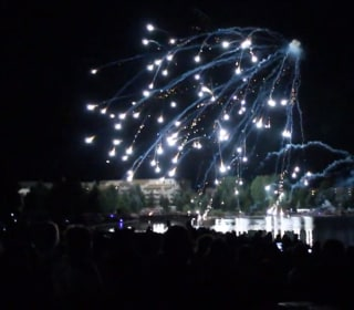 July-Fourth Revelers Film Fireworks Shooting Into Crowd
