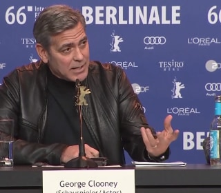 George Clooney to Discuss Migrants Crisis with Angela Merkel