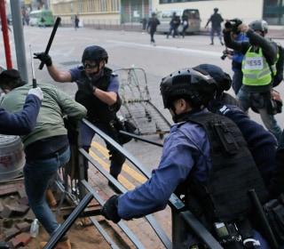 Hong Kong Street Violence Eclipses Lunar New Year