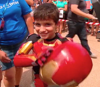 Make-A-Wish 'Iron Boy' Saves Sydney from Disaster