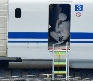 Man Sets Himself Alight on Japanese Bullet Train