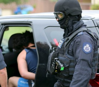 Police Charge Two With Terrorism Offenses After Pre-Dawn Raids