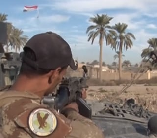 Iraqi Troops Engage in Fierce Battle with ISIS