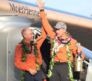 Solar Impulse 2 Touches Down in Hawaii After Historic Flight