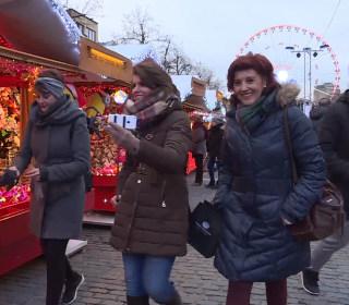 Brussels Seeks Christmas Cheer Despite Terror Alerts
