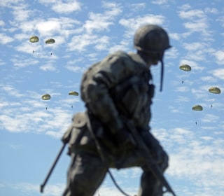 Paratroopers Mark D-Day Anniversary With Special Jump
