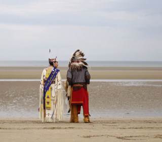 Comanche Indians Honor D-Day Code-Talkers