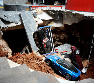Corvette Museum Commemorates 2014 Sinkhole With New Exhibit