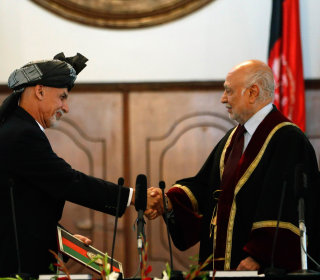 Ashraf Ghani Sworn In as Afghan President, Says 'We Are Tired of Insecurity'
