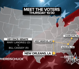 #WhereIsChuck Meeting the Voters?