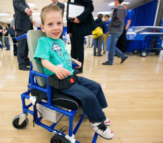 This Affordable Kids' Wheelchair Idea Will Make You Smile