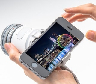 Olympus 'Air' Camera Swaps Lenses, Uses Phone for Its Screen