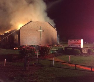 South Carolina Black Church, Once Torched by KKK, Burns Again