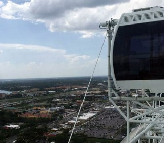 400-Foot Orlando Ferris Wheel Stops, Stranding 66 Riders