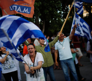 Opinion Polls Show 'No' Winning in Greek Referendum