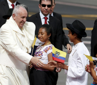 Pope Draws Half Million to Outdoor Mass in Ecuador