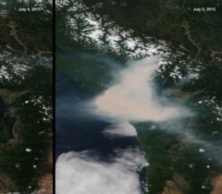 Canadian Wildfire Smoke Chokes Much of U.S.
