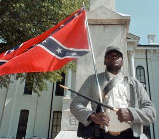 Outspoken Black Confederate Flag Supporter Anthony Hervey Dies in Mississippi Traffic Accident