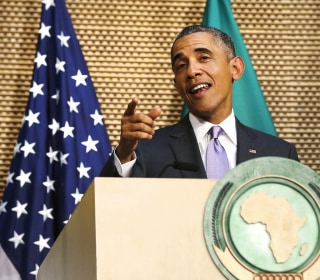 Obama Rebukes African Leaders, Says He Could Win Third Term in White House