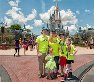 Family Walks From Disney Land to Disney World in Daughter's Memory