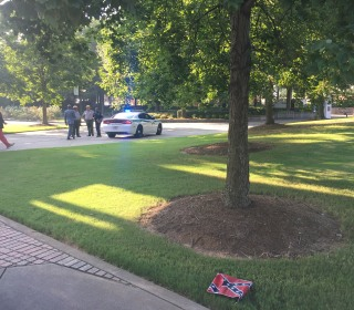 Police Seek Suspects Who Left Confederate Flags Near MLK's Atlanta Church