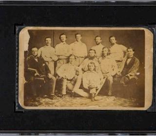 Rare Pre-Civil War Baseball Card Fetches $179,250 at Auction