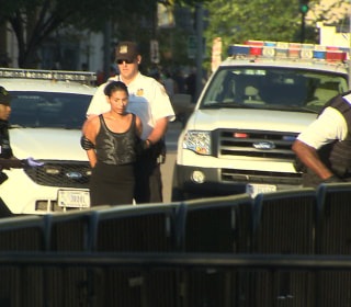 Woman Arrested After Jumping Over Bike Rack in Front of White House Fence