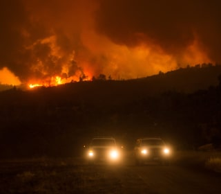 Rocky Fire: Large California Blaze Grows, Evacuations Ordered
