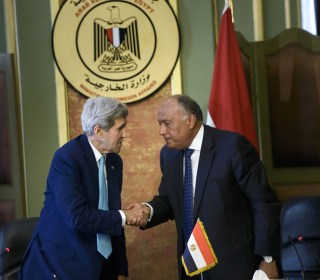 John Kerry in Cairo: U.S., Egypt Returning to 'Stronger Base' in Ties