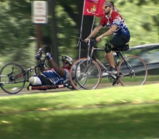 Double-Amputee Marine Completes Cross-Country Journey