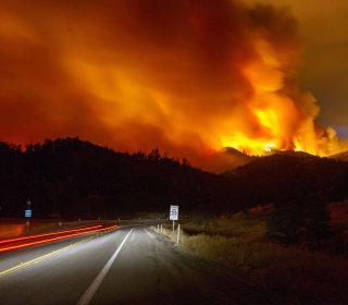 Enormous Rocky Fire Blazes Through California