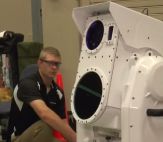 Watch Boeing's Portable Laser System Knock Drones Out of the Sky