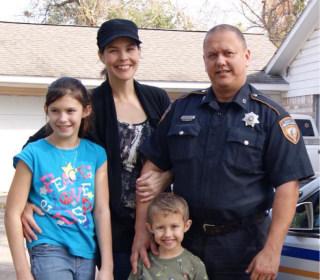 Second Vigil Honors Slain Texas Deputy Darren Goforth