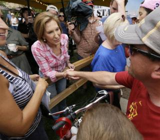 Carly Fiorina Makes Her Pitch in Iowa