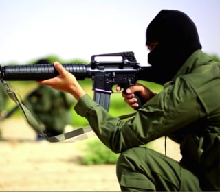 ISIS Shows Off Its American-Made M16 Rifles