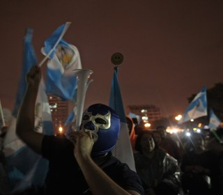 Guatemalans Look To Sunday Election After Historic Win Against President
