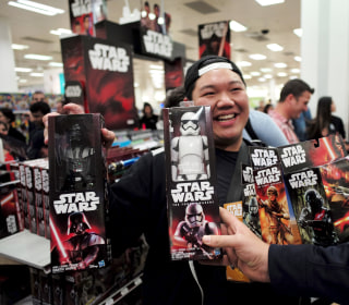'Star Wars' Fans Hit the Stores for 'The Force Awakens' Toys