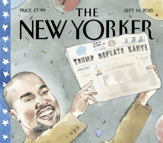 Kanye West Appears As Harry Truman On New Yorker Cover