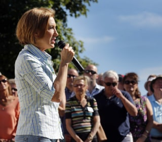 Carly Fiorina Feeling the Momentum  -- And the Pressure