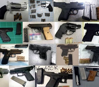 TSA Says It Seized More Guns Than Ever at Airports Last Year