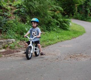 Balance Bikes Overtake Training Wheels for Teaching Young Riders