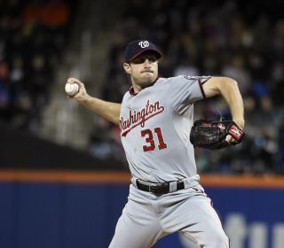 Nationals' Max Scherzer Throws No-Hitter Against Mets