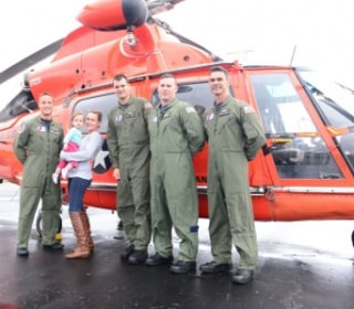 Coast Guard Plucks Mom, Infant From Roof in South Carolina Floods