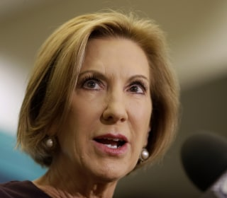 Carly Fiorina Defends Late Payments From 2010 Senate Bid