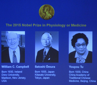 Nobel Goes to Pioneers of Natural-Based Medicines