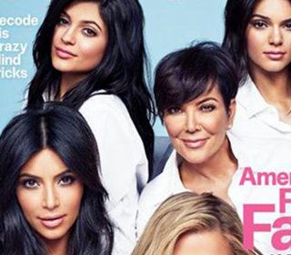 Kardashian Cosmopolitan 'First Family' Cover Sparks Backlash
