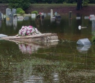 S.C. Pastor Braves Floodwaters to Save Casket for Grieving Family