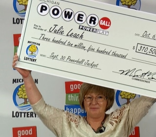 Julie Leach, Fiberglass Factory Employee, Wins $310.5 Million Powerball