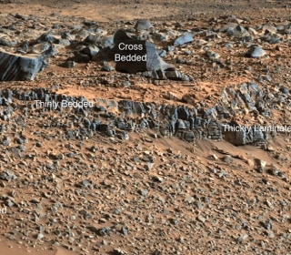 'Streams and Lakes' in Gale Crater Tell Story of a Wet Mars