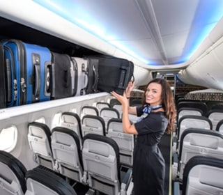 Boeing Outfitting Planes With More Bin Space, Less Headroom